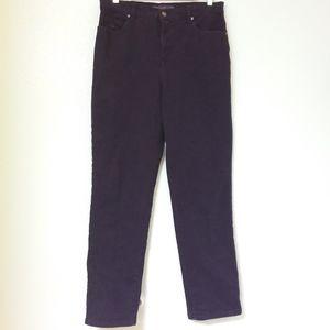Vanderbilt Amanda Jeans Dark Purple Stretch